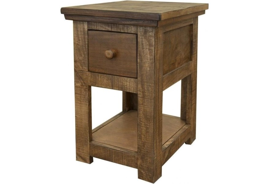 International Furniture Direct Salamanca IFD8012CST Rustic ...