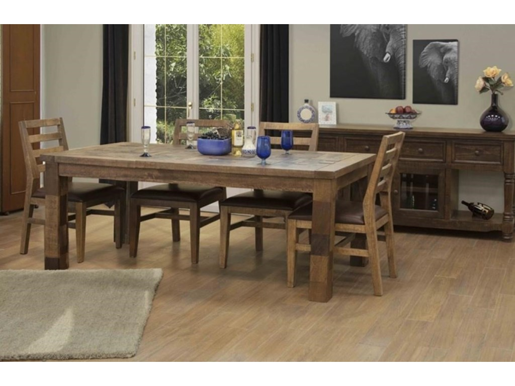 International Furniture Direct SalamancaDining Table