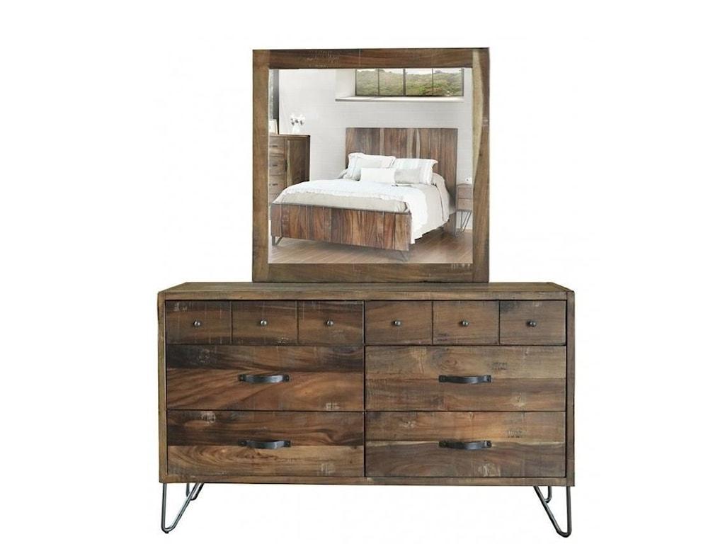 International Furniture Direct TaosQueen Bedroom Group