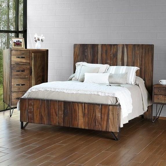 International Furniture Direct TaosQueen Bed