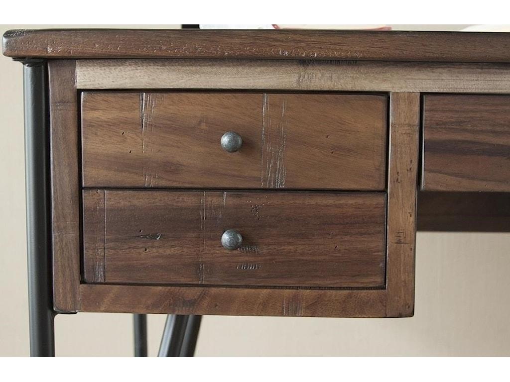 International Furniture Direct Taos5 Drawer Desk