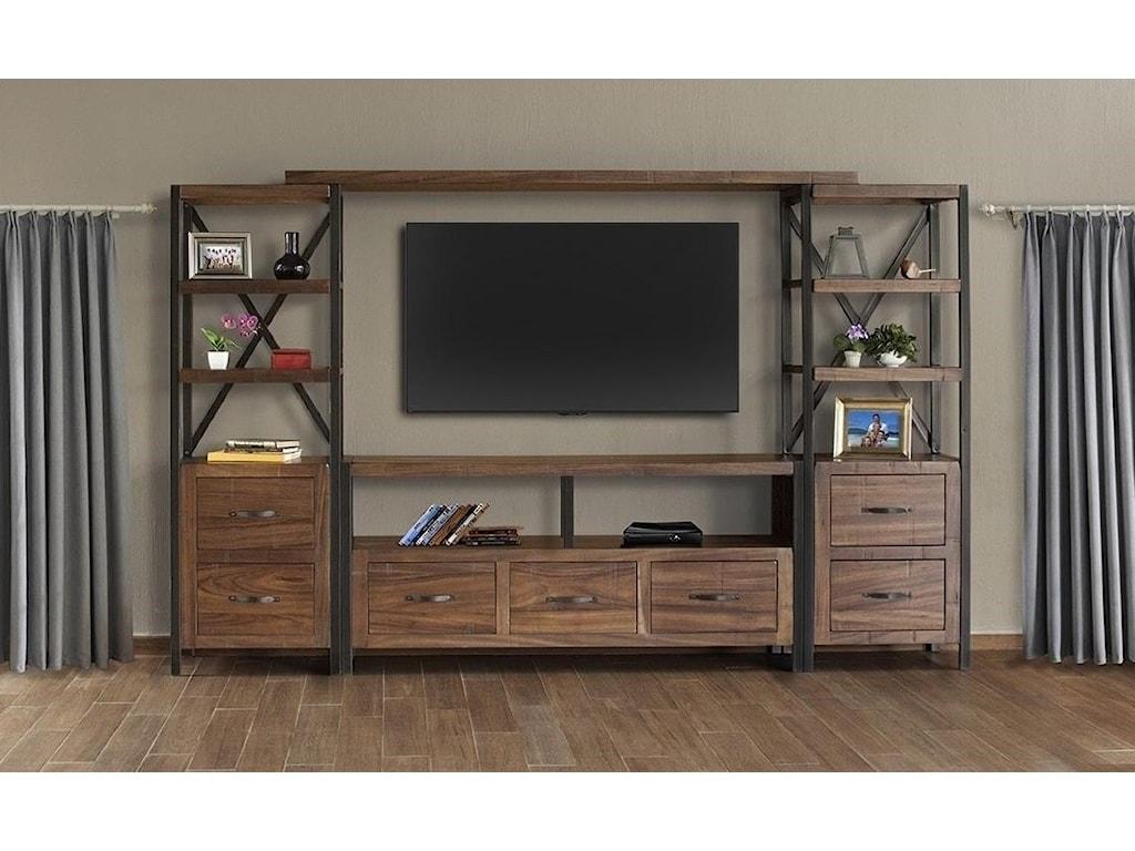 International Furniture Direct TaosPier Bookcase