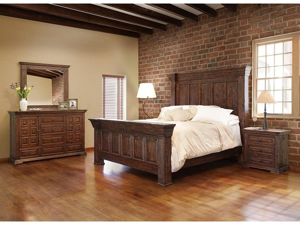 Terra King Bedroom Group by International Furniture Direct at Furniture and  ApplianceMart