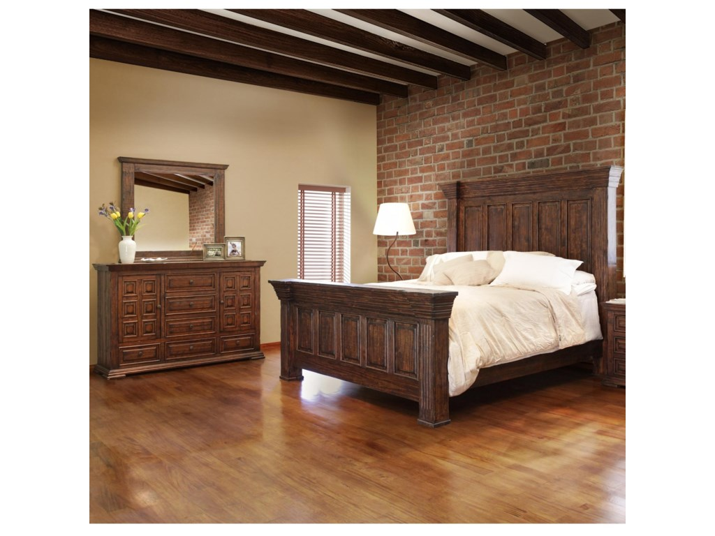 International Furniture Direct Terra Queen Bedroom Group ...