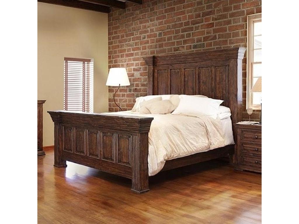 Terra Queen Panel Bed