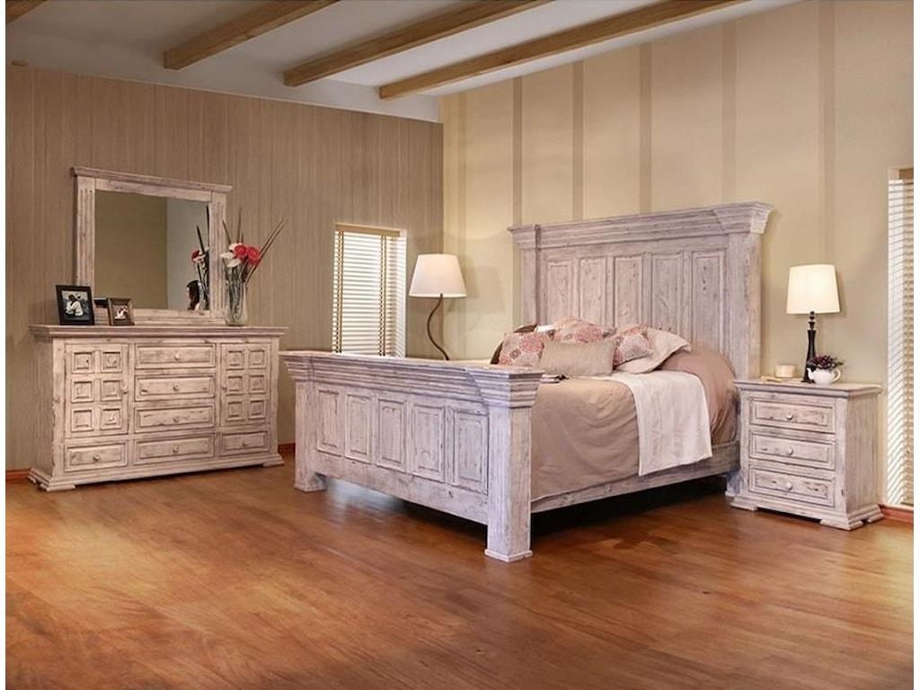 VFM Signature Terra WhiteKing Bedroom Group