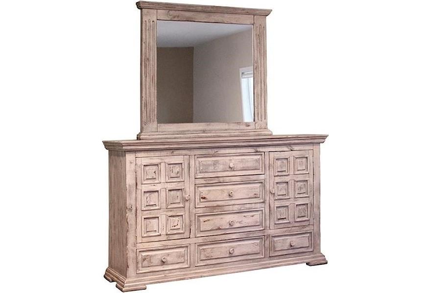 International Furniture Direct Terra White Queen Bedroom ...