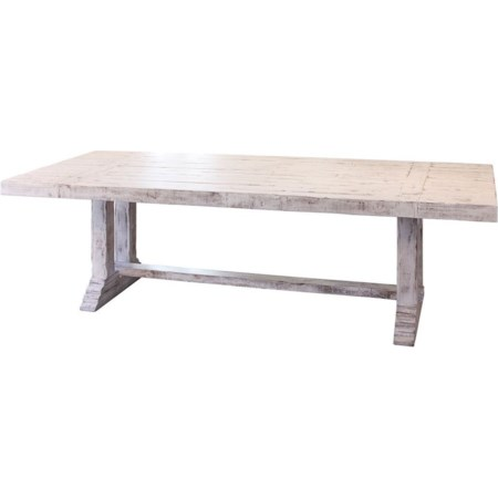 """102"""" Solid Wood Dining Table"""