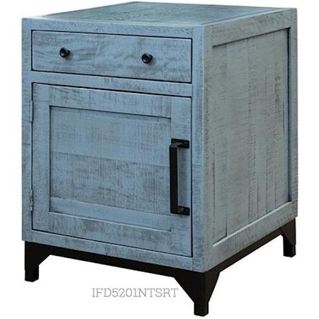 1 Drawer & 1 Door Right Nightstand