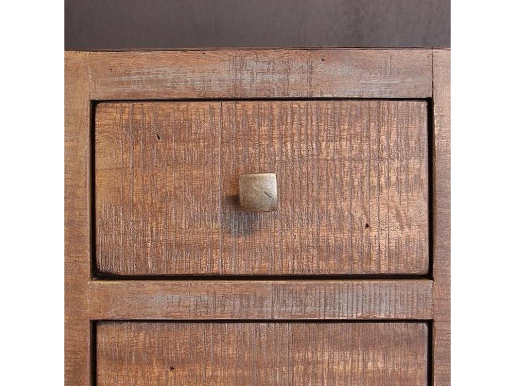 Artisan Home Urban GoldTwo Drawer File Cabinet