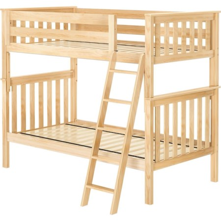 Bristol 1 Twin/Twin Bunk Bed in Natural