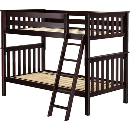 Bristol 1 Twin/Twin Bunk Bed in Espresso