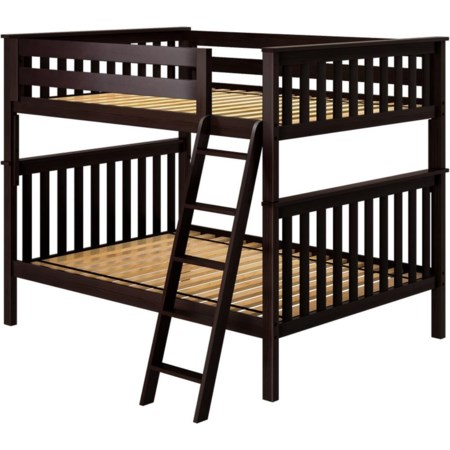 Cambridge 1 Full/Full Bunk Bed in Espresso