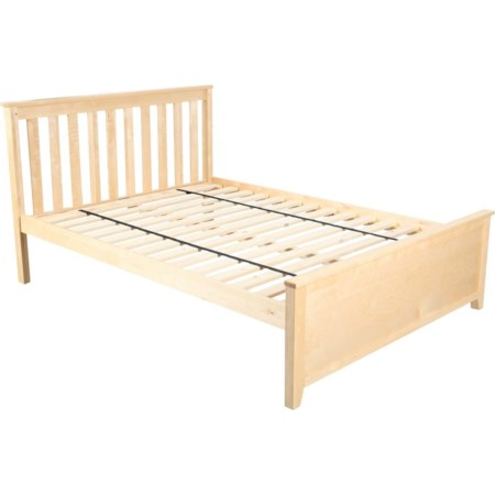 Dover Full Bed in Natural