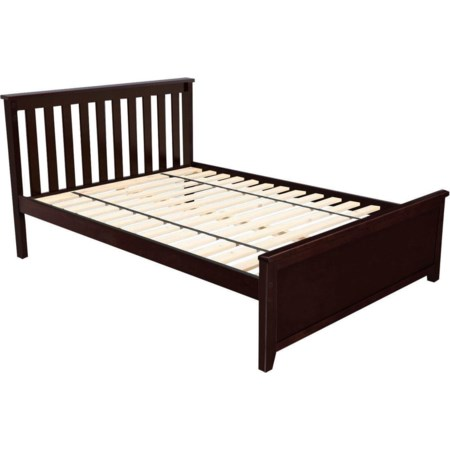 Dover Full Bed in Espresso