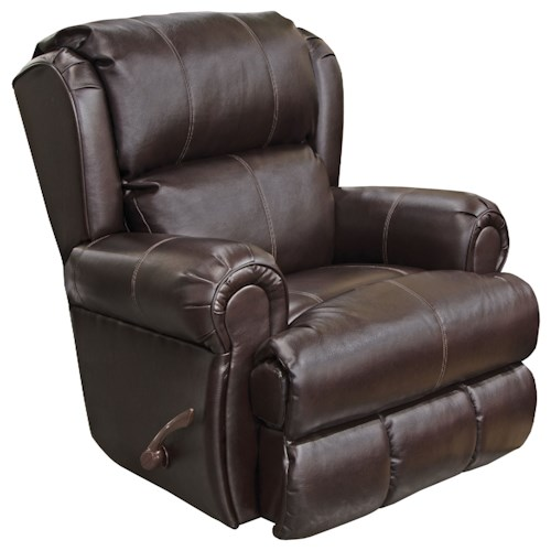 Jackson Furniture Southport Glider Recliner with Rolled Arms