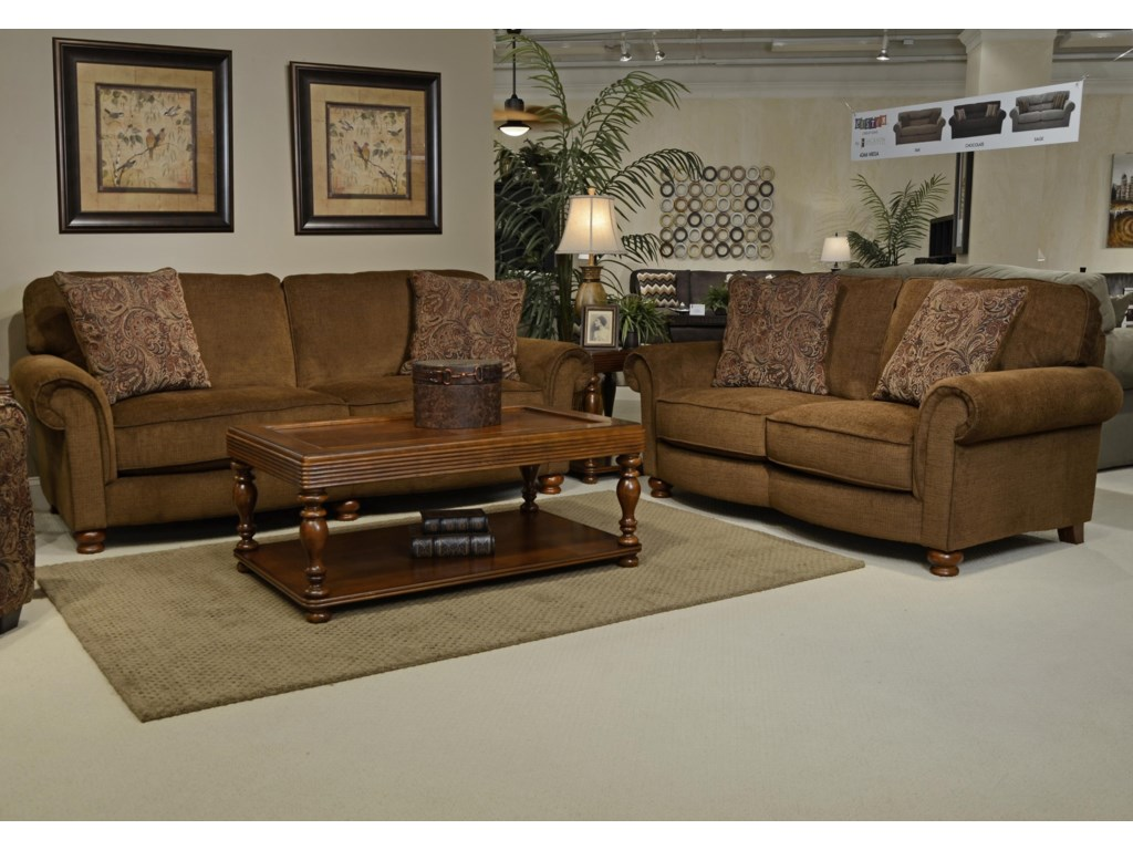 Jackson Furniture DowningStationary Living Room Group