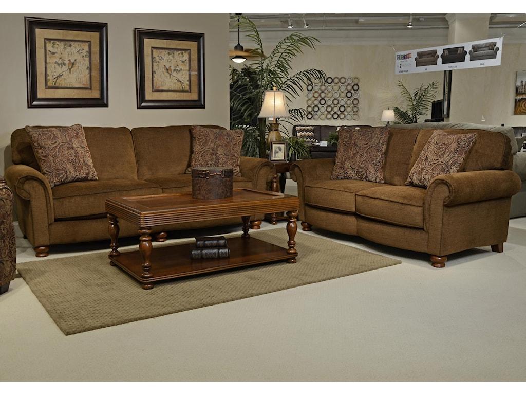 Jackson Furniture DowningLoveseat