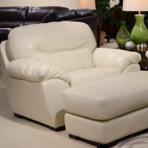Jackson Furniture Jordan Chair and a Half for Living Rooms and Family Rooms
