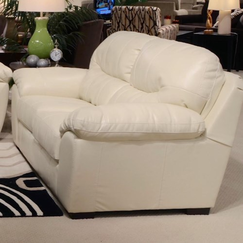 Jackson Furniture Jordan Loveseat for Living Rooms and Family Rooms