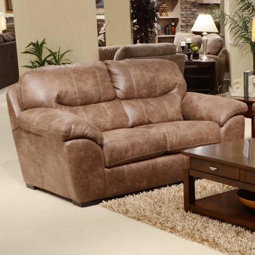Jackson Furniture Grant Loveseat for Living Rooms and Family Rooms