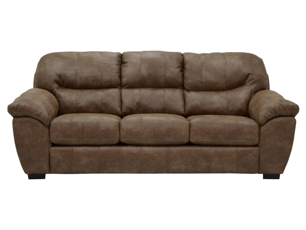 Grant Faux Leather Sofa
