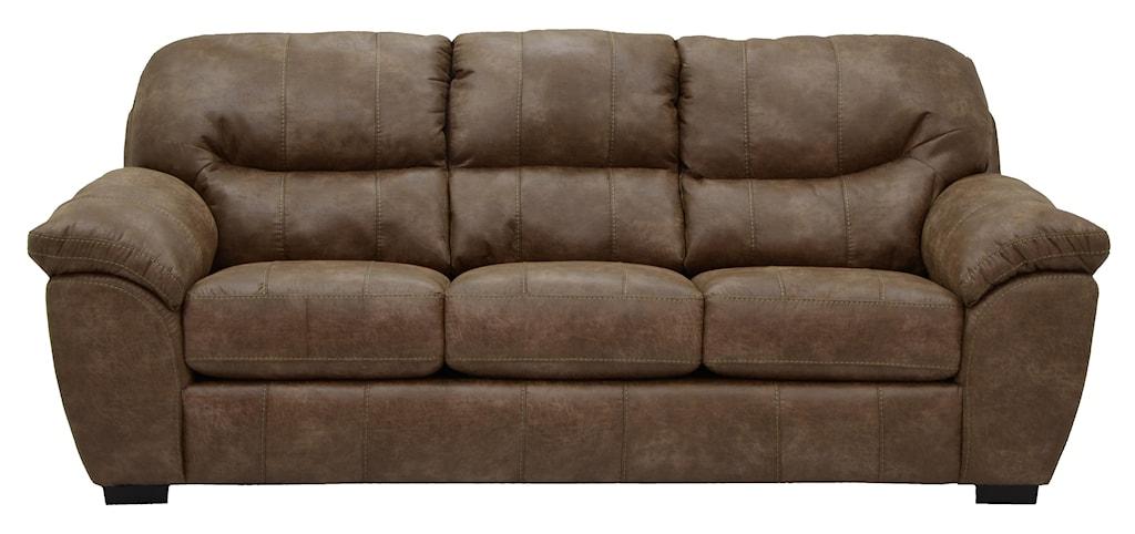 Grant Faux Leather Sleeper Sofa Ruby Gordon Furniture  ~ Faux Leather Sleeper Sofa