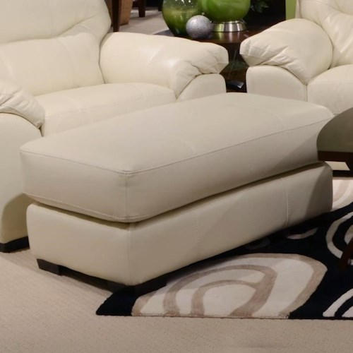 Jackson Furniture Grant Ottoman for Living Rooms and Family Rooms
