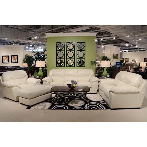 Jackson Furniture Jordan Stationary Living Room Group