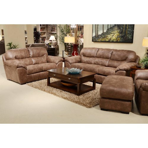 Jackson Furniture Jordan Stationary Living Room Group