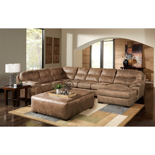 Jackson Furniture Gunsmoke Sectional Sofa