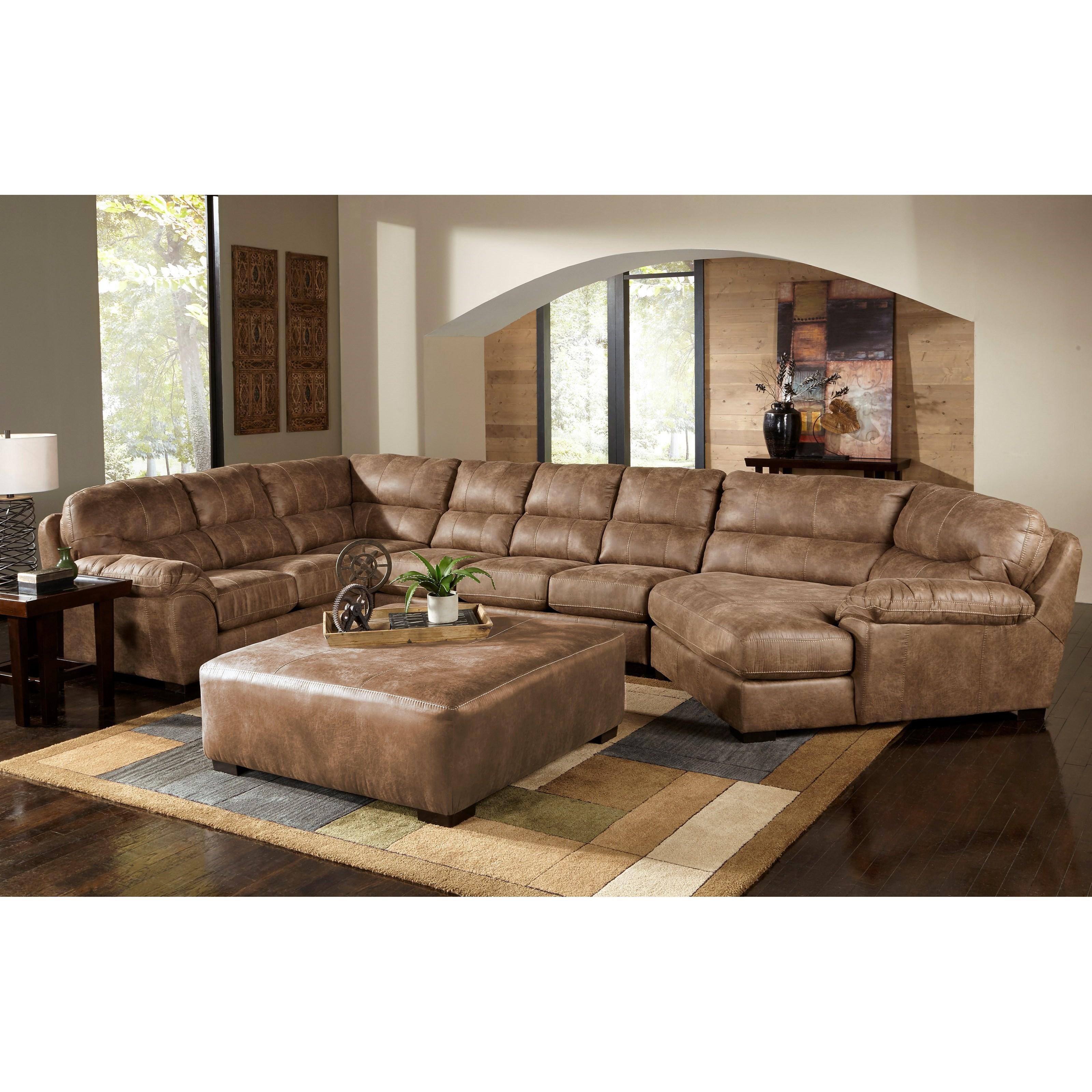 Great Jackson Furniture Jordan Sectional Sofa