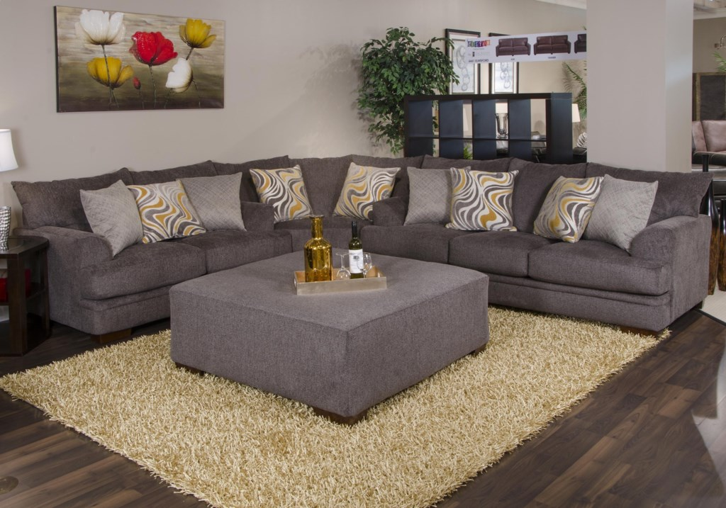 Living Room Sets Bjs jackson furniture crompton pewter sofa - great american home store