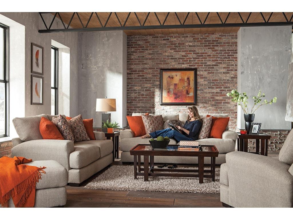 Jackson Furniture Ava CashewOttoman