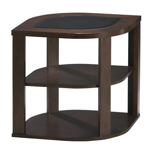 Jackson Furniture 891 Tables Contemporary Styled End Table with Shelf