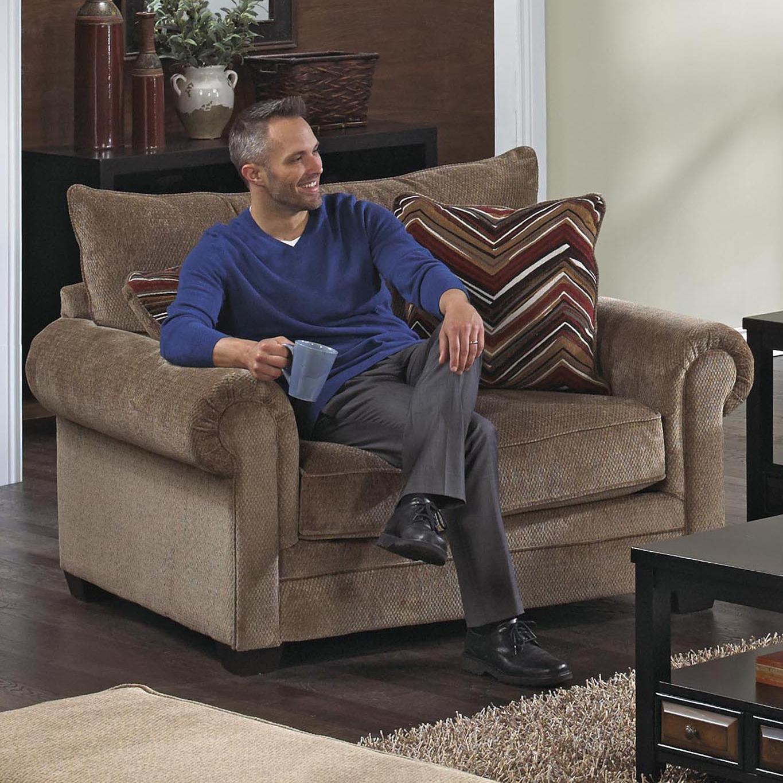 Jackson Furniture AnnistonOversized Chair ...