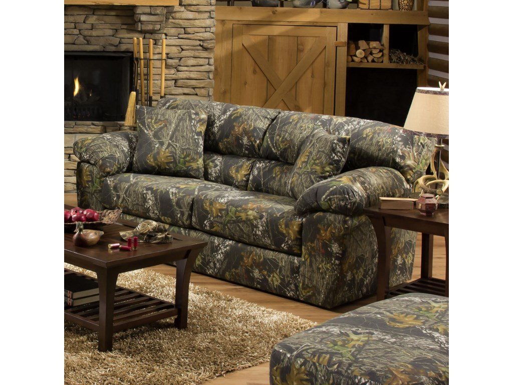 Jackson Furniture Big GameCamouflage Sleeper Sofa