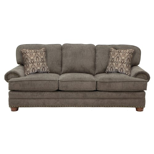 Jackson Furniture Braddock Sofa with Individually Driven Nail Heads