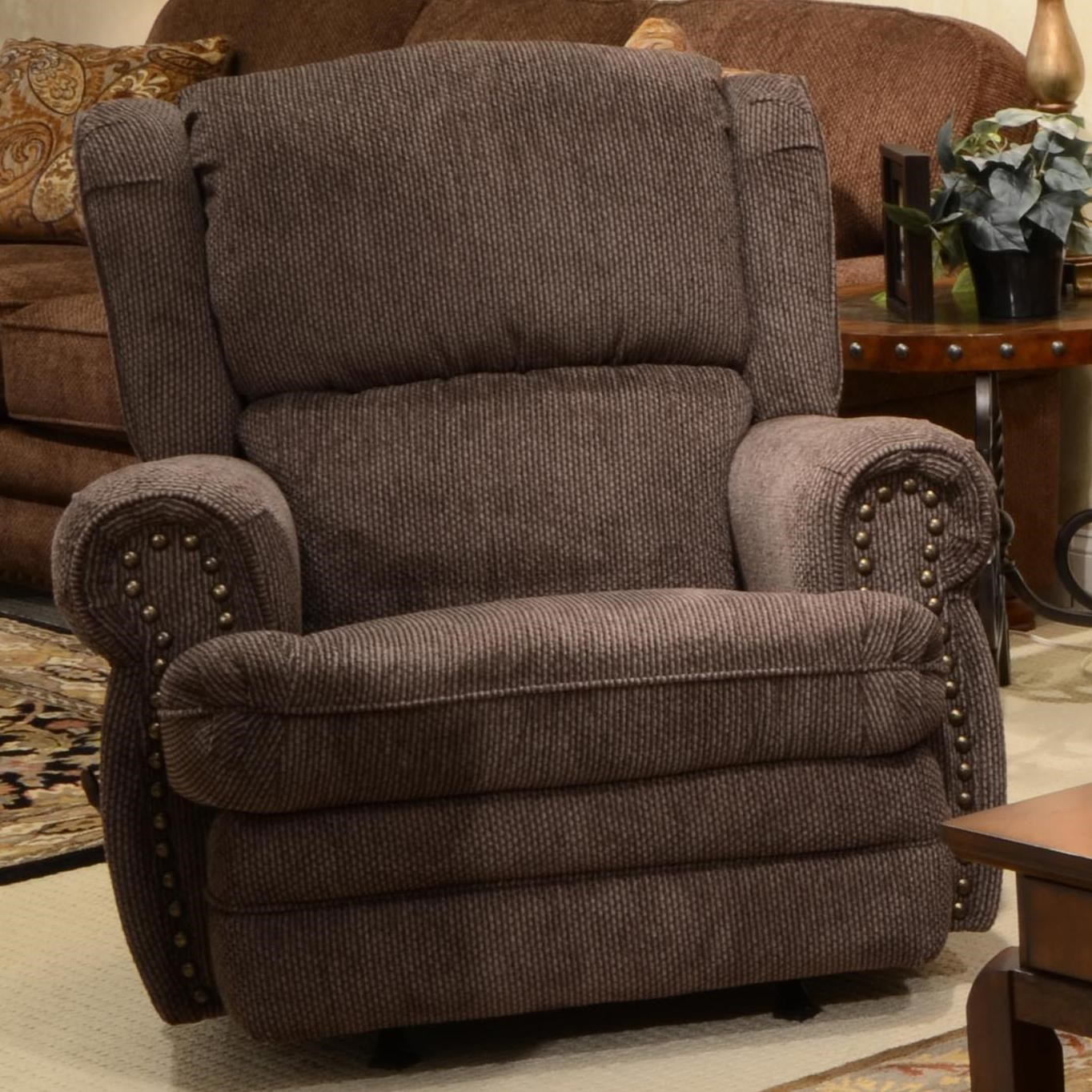 Jackson Furniture Braddock Rocker Recliner with Inidually Driven Nail Heads - Virginia Furniture Market - Three Way Recliners  sc 1 st  Virginia Furniture Market & Jackson Furniture Braddock Rocker Recliner with Inidually ... islam-shia.org