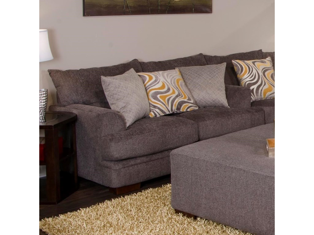 Jackson Furniture Crompton Loveseat with Casual Style ...