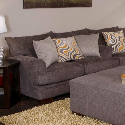 Jackson Furniture Crompton Loveseat with Casual Style