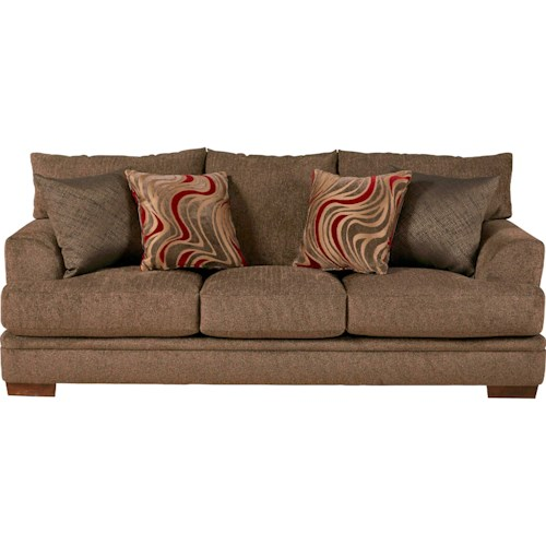 Jackson Furniture Crompton Sofa with Casual Style