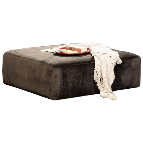 Jackson Furniture 4377 Everest Contemporary Upholstered Cocktail Ottoman