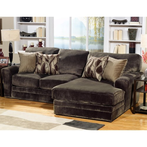 Jackson Furniture 4377 Everest 2 Piece Sectional Sofa With Rsf Chaise Wayside Furniture