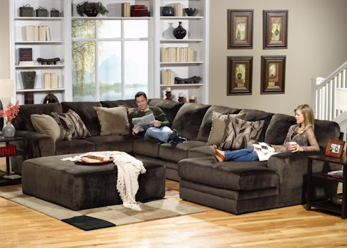 Jackson Furniture 4377 Everest 3 Piece Sectional with LSF Section