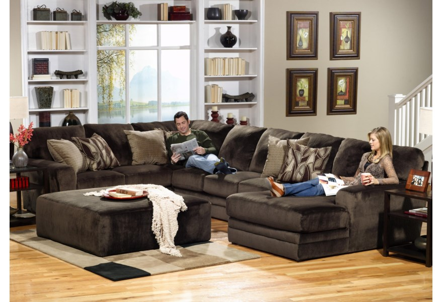 Jackson Furniture 4377 Everest 3 Piece Sectional with LSF ...