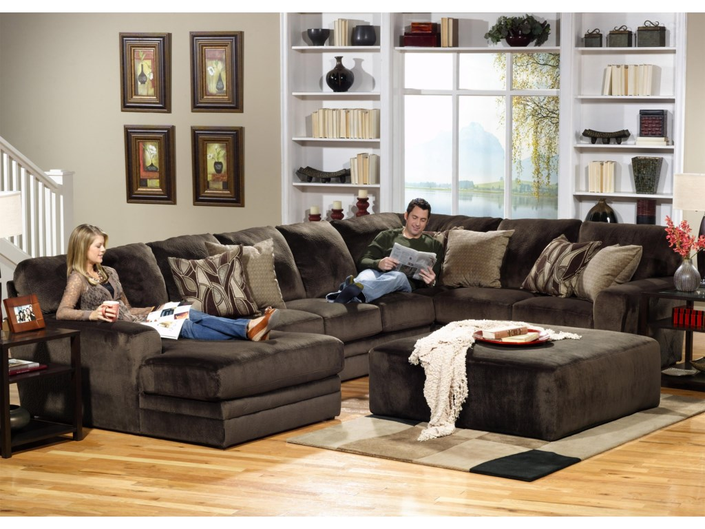 Jackson Furniture 4377 EverestSectional Sofa