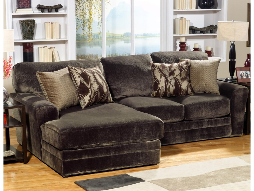 4377 Everest 2 Piece Sectional Sofa With Lsf Chaise By Jackson Furniture