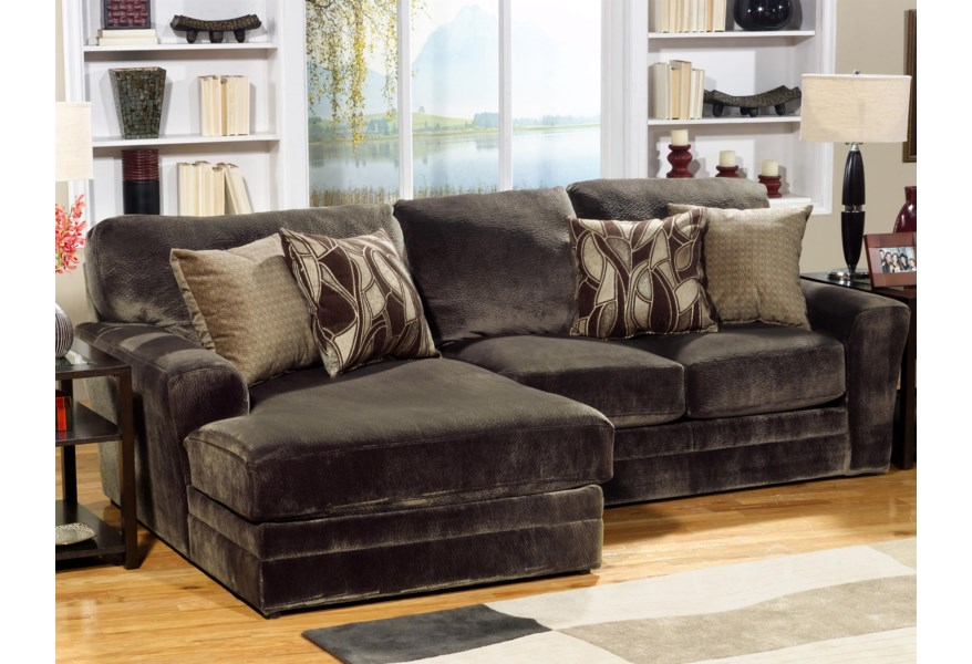 4377 Everest 2 Piece Sectional Sofa with LSF Chaise by Jackson Furniture at  Virginia Furniture Market