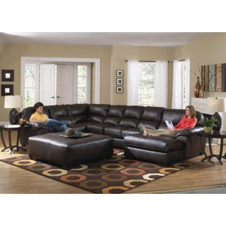 Seven Seat Sectional